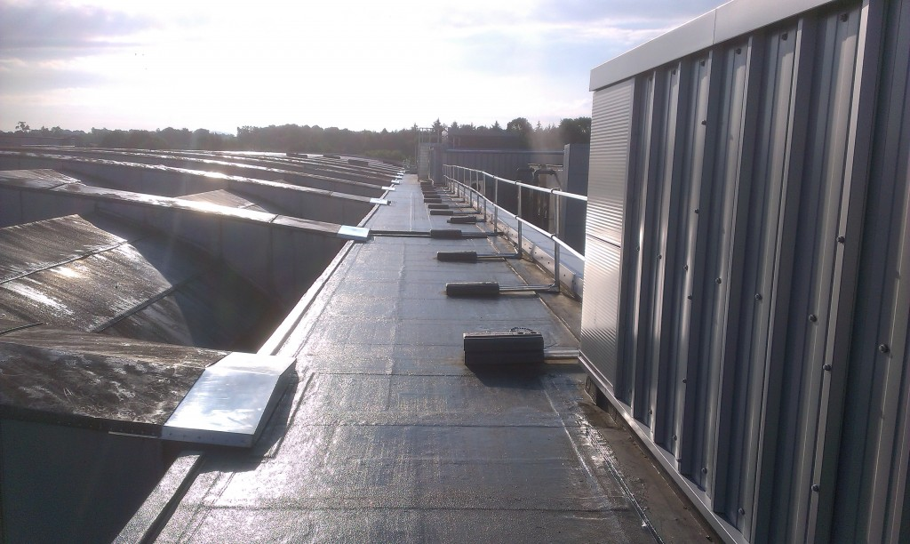 Gbs Roofing Belfast Amp Ballymoney Footbridge